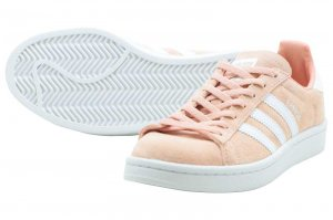 adidas CAMPUS W - CLEAR ORANGE/RUNNING WHITE/CRYSTAL WHITE