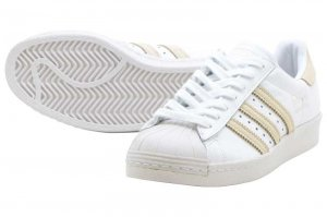 adidas SUPERSTAR 80s - RUNNING WHITE/ECRU TINT/CRYSTAL WHITE