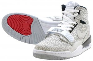 NIKE AIR JORDAN LEGACY 312 - WHITE/WHITE-BLACK