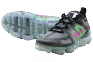 NIKE AIR VAPORMAX 2019 PRM - BLACK/ACTIVE FUCHSIA