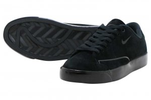 NIKE W BLAZER CITY LOW LX - BLACK/BLACK-BLACK