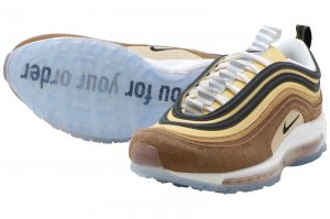 NIKE AIR MAX 97 - ALE BROWN/BLACK-ELEMENTAL GOLD