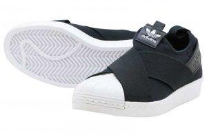 adidas SUPERSTAR SLIPON W - CORE BLACK/CORE BLACK/RUNNING WHITE
