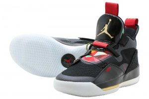 NIKE AIR JORDAN XXXIII PF - BLACK/METALIC GOLD