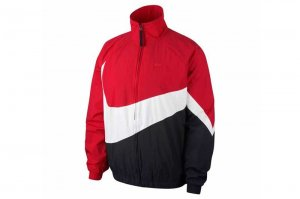 NIKE STMT WOVEN JACKET - UNIVERSITY RED