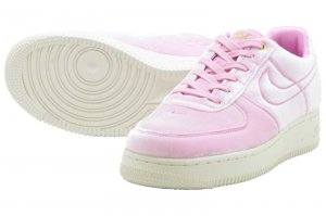 NIKE AIR FORCE 1 '07 PRM 3 - PINK RISE/PINK RISE-SAIL
