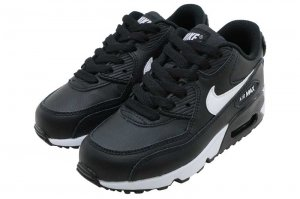 NIKE AIR MAX 90 LTR PS - BLACK/WHITE-ANTHRACITE