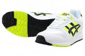 asics Tiger GELSAGA - SAFETY YELLOW-BLACK