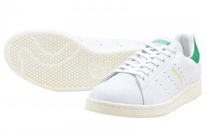 adidas STAN SMITH - RUNNING WHITE/RUNNING WHITE/GREEN