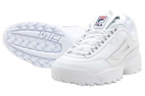 FILA DISRUPTOR 2 PATCHES - WHITE
