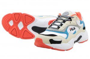 FILA LUMINANCE - WHITE/ORANGE/BLACK/SAX