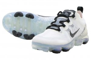 NIKE WMNS AIR VAPORMAX 2019 - WHITE/BLACK-PALE IVORY