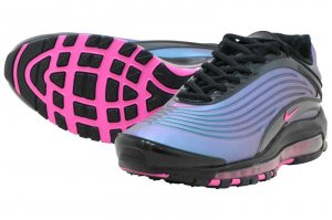 NIKE AIR MAX DELUXE - BLACK/LASER FUCHSIA
