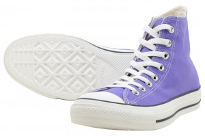 CONVERSE ALL STAR WASHEDCANVAS HI - PURPLE