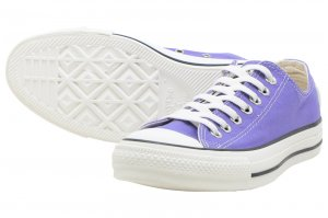 CONVERSE ALL STAR WASHEDCANVAS OX - PURPLE