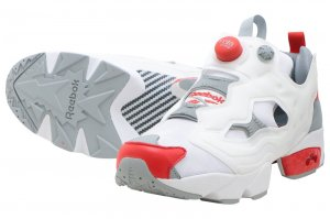 Reebok INSTAPUMP FURY OG - TEAM WHITE/GREY/RED