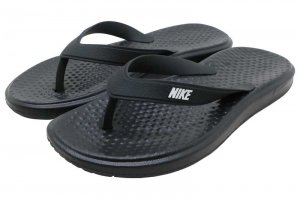 NIKE SOLAY THONG - BLACK/WHITE-BLACK