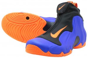 NIKE AIR FLIGHTPOSITE - RACER BLUE/TOTAL ORANGE-BLACK