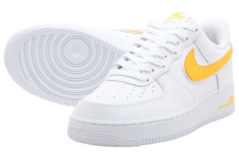 superior quality 01214 a4ac0 NIKE AIR FORCE 1  07 3 - WHITE UNIVERSITY GOLD ao2423-105
