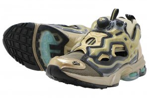 Reebok FURY DMX TXT - SLEEK METALIC/BLACK