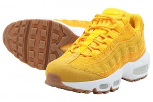 NIKE WMNS AIR MAX 95 PRM - UNIVERSITY GOLD/CANYON GOLD