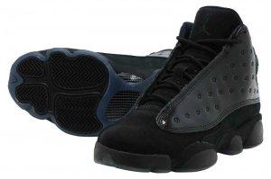 NIKE AIR JORDAN 13 RETRO (GS) - BLACK/BLACK