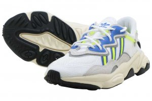 adidas OZWEEGO - RUNNING WHITE/NEON YELLOW