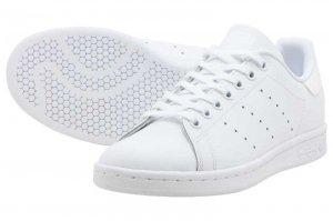 adidas STAN SMITH J - RUNNING WHITE/RUNNING WHITE