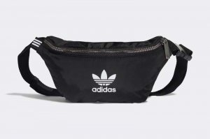 adidas WAIST BAG - BLACK