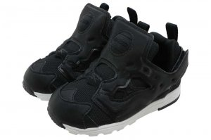 Reebok VERSA PUMP FURY - BLACK/WHITE