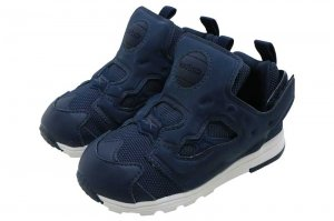 Reebok VERSA PUMP FURY - COLLEGIATE NAVY/WHITE