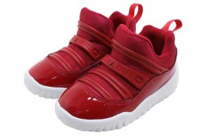 NIKE JORDAN 11 RETRO LITTLE FLEX TD - GYM RED/BLACK-WHITE