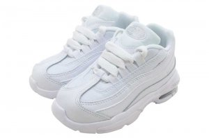 NIKE LITTLE MAX '95 (TD) - WHITE/WHITE-METALIC SILVER