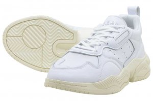adidas SUPERCOURT 90s - CRYSTAL WHITE/C WHITE/RAW WHITE