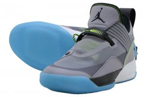 NIKE AIR JORDAN XXXIII SE PF - CEMENT GREY/BLACK-SAIL VOLT
