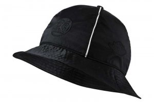 NIKE JORDAN RIVALS SATIN BUCKET CAP - BLACK