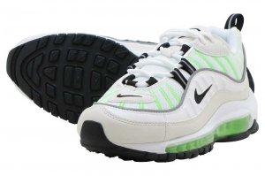 NIKE W AIR MAX 98 - SUMMIT WHITE/BLACK-PHANTOM