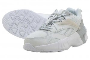 Reebok AZTREK DOUBLE NU LACES - TRUE GREY/SKULL GREY/WHITE