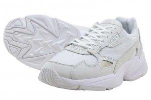 adidas FALCON W - RUNNING WHITE/RUNNING WHITE/CRYSTAL WHITE