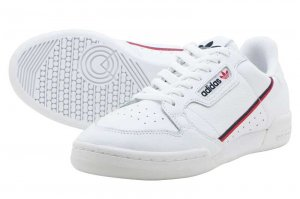 adidas CONTINENTAL 80 - RUNNING WHITE/SCARLET/COLLEGE NAVY