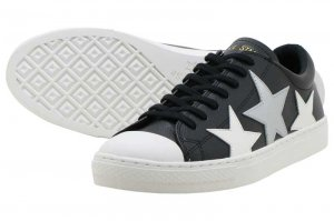 CONVERSE ALL STAR COUPE TRIOSTAR OX - BLACK/SILVER