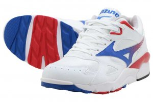 MIZUNO SKY MEDAL - WHITE/BLUE/RED