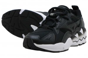 MIZUNO WAVE RIDER 1 - BLACK/WHITE