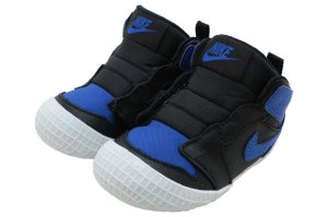 NIKE JORDAN 1 CRIB BOOTIE - BLACK/VERSITY ROYAL-WHITE