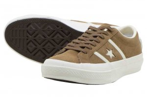 CONVERSE STAR&BARS SUEDE - TAUPE