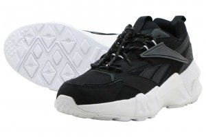Reebok AZTREK DOUBLE NU LACES - BLACK/ALLOY/WHITE