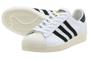 adidas SS 80s - WHITE/CORE BLACK/CHALK WHITE