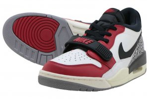 NIKE AIR JORDAN LEGACY 312 LOW - SUMMIT WHITE/BLACK-VERSITY RED