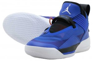 NIKE AIR JORDAN XXXIII SE PF - HYPER ROYAL/WHITE-BLACK