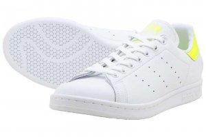 adidas STAN SMITH - RUNNING WHITE/SOLAR YELLOW/RUNNING WHITE